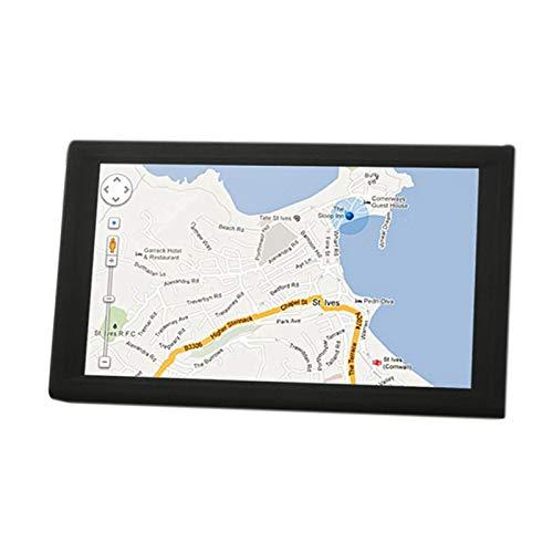 Nrpfell Pantalla Capacitiva para Coche de 9 Pulgadas GPS Navigator 8G 256M Reproductores de MP3 / MP4 Driving Voice Navigator Mapa de Europa