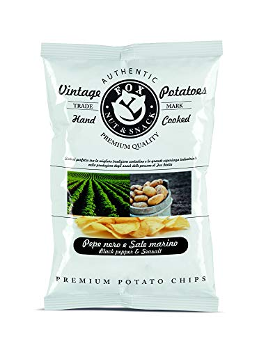 FOX Natural Quality Vintage Potatoes Pepe Nero e Sale Marino - 40 g