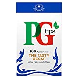 PG Tips Decaf 180 Pyramid Teabags,180 por paquete