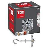 TOX Tassello a gancio ribaltabile a molla Pirat Eddi-S M4 scatola piccola, 20 pz, 024100171