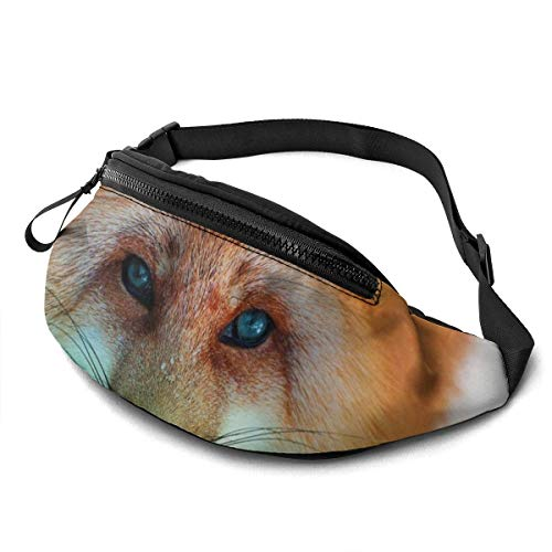 FengLiuAiShuaiGe Daypacks Animal Fox Green Nature Fanny Pack Sac de Taille Mode,