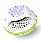 LIUJIE Schwimmer Waterproof Bluetooth Speaker 4.0 Mini Portable Stereo-Subwoofer im Freien Floating Wireless IPX7 mit 10W Plus Deep Bass und Colorful LED-Licht