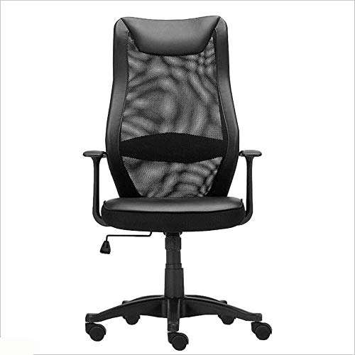 XKKD stoel mesh hoge rug draaibare bureaustoel dubbele laag mesh ademende rugleuning studiestoel Thuis bureaustoel ladingdragende 200kg