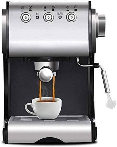WSJTT Automatic Coffee Machine, Super Automatic Frothing for Latte, Macchiato, Cappuccino and Espresso Drinks with Programmable Options