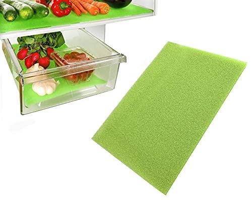 Fridge Liner Mat Kitchen Salad Drawer Fridge Fresh Food Saver Anti Mould Refrigerator Antibacterial Washable Mats Pad for Home,Kitchen, Cabinet & Drawer