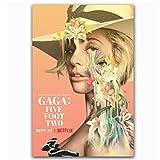 LYHNB Leinwand Wandkunst Lady Gaga Fünf Fuß Zwei Netflix