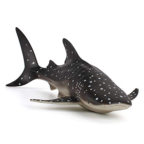Fantarea Whale Shark Simulation Ocean Sea Marine Animal Model Figures Toy Model Birthrday Gift Party School Project Favors Toys for Kid Boys Girls 5 6 7 8 Years Old