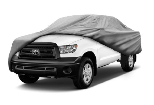 SBU 3 Layer All Weather Truck Cover fits Honda Ridgeline Pickup Model Years 2006-2009 Breathable Automobile Pick-up Protection
