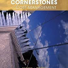 Instructors Edition Third Edition Cornerstones of Cost of Management