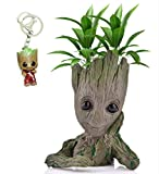 Udream Baby Groot Maceta - Maravillosa Figura de acción de Guardians of The Galaxy para Plantas y bolígrafos - Perfecto como Regalo - Soy Groot