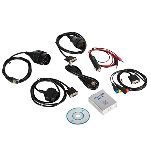 KWP2000 Plus Auto Motordiagnosewerkzeuge OBDII OBD2 Steuergerät Chip Tuning Tool Steuergerät Blink Smart Remapping Decode (JBP-X)