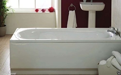 supastyle PLUMBSAVER 1700MM WHITE ACRYLIC BATH PANEL HEIGHT 510MM