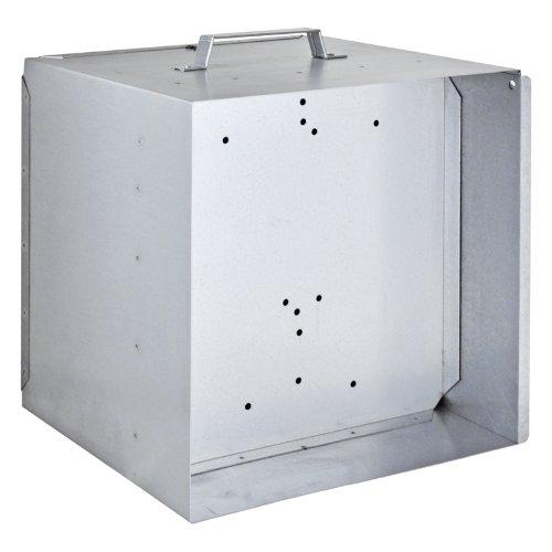 VOSS.farming Caja metálica para batería de 12 V y Pastor eléctrico