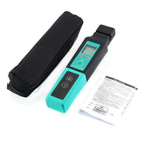 Identificador de fibra óptica de mano Detector de rastreo de fibra óptica en vivo Herramienta de prueba de identificación Longitud de onda 800-1700nm - Verde y negro