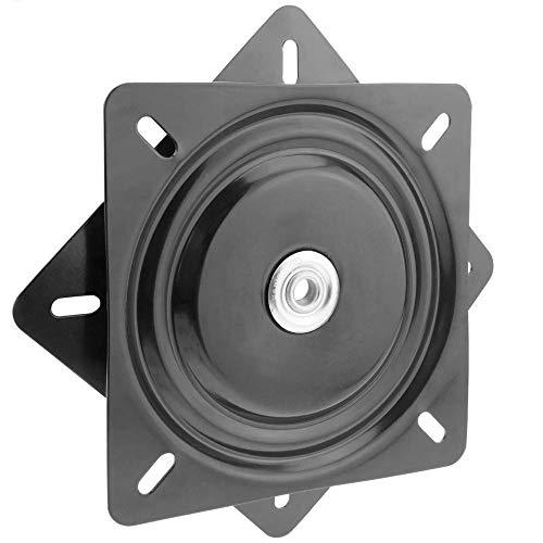 PrimeMatik - Base giratoria Manual de 290x290mm y 200Kg de Carga. Plataforma de rotación