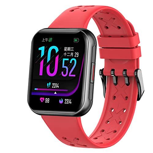 YDK G16 Deportes Smartwatch IP68 Impermeable Touch Touch Touch Touch Cardón Monitoreo Monitoreo Smart Reloj, Hombres Y Mujeres, Regalos del Día De San Valentín para Android iOS,C