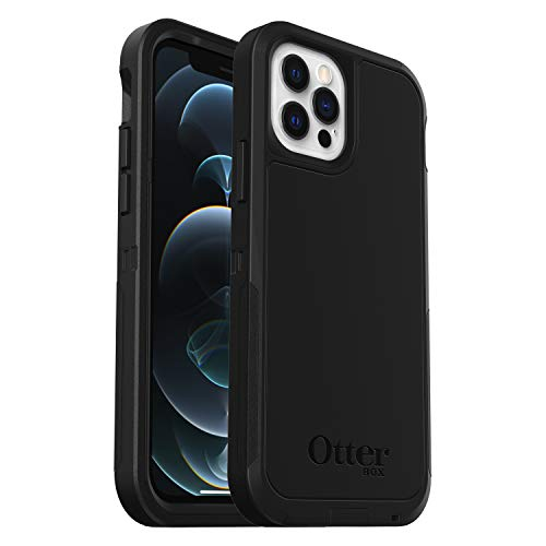 OtterBox Defender XT, Rugged Protection with MagSafe for iPhone 12/12 Pro - Black - Non-Retail Packaging
