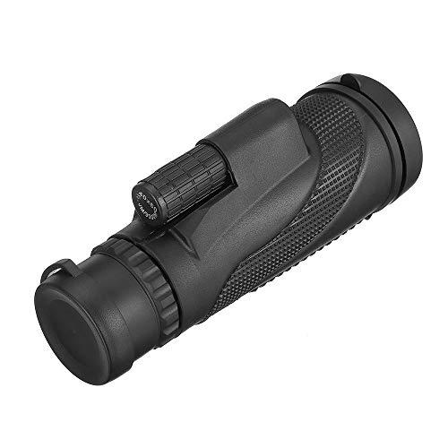 Binoculares YDHWWSH Binoculares potentes 40x60 monocromos Zoom Gran telescopio de Mano Militar HD Profesional Caza 155 * 52 mm Negro