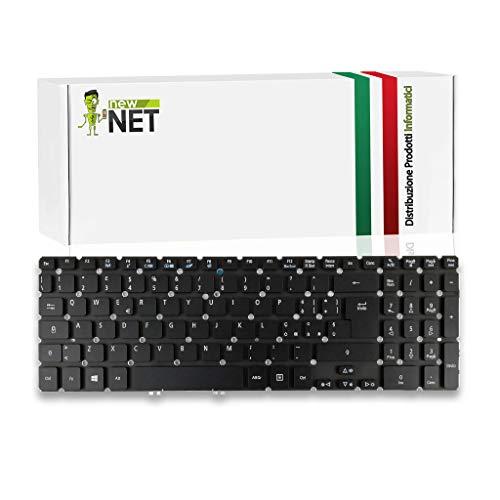 newnet Tastiera Compatibile con Acer Aspire MP-11F56I0-4424W V5-571 V5-572 V5-573 V5-531 V5-551 V5-552 V7-581 V7-582 VN7-571 VN7-591 M5-581 Serie