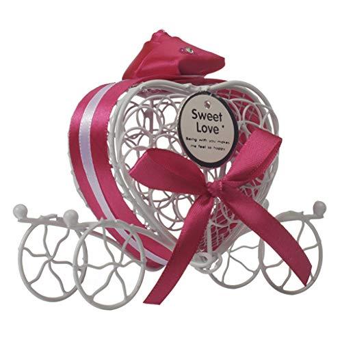 Verse liefde Hart Holle Vervoer Snoepdoos Met Lint Chocolade Case Houder Pakket Bruiloft Party Baby Douche Favor Geschenken Levert Creatieve Hart Vorm Vervoer Snoepdoos