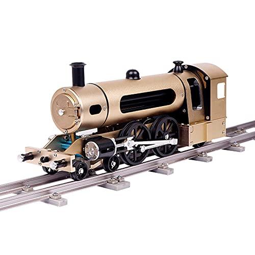 TWY Modelo de Metal eléctrico Ensamblaje de Tren de Vapor Juguetes educativos...