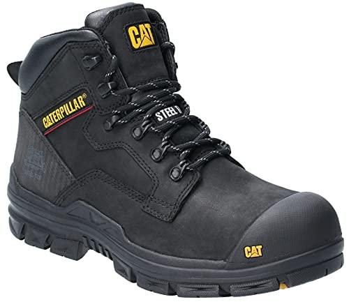 Caterpillar Herren Bearing St S3 Wr HRO SRC Sicherheitsstiefel, Black, 44.5 EU