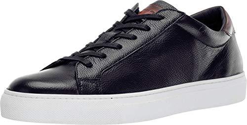 To Boot New York Men's Knox Sneakers, Panama/Diver Nero/Tan, 10-10.5 Medium US