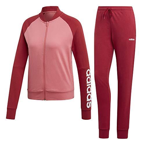 adidas Damen WTS New Co Mark Trainingsanzug, Mehrfarbig (Rosfel/Maract), S
