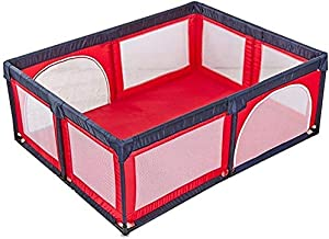 Teppichks Baby playpen Fence Indoor And Outdoor Children Toddler Security Fence Toy House  Size 150 190cm