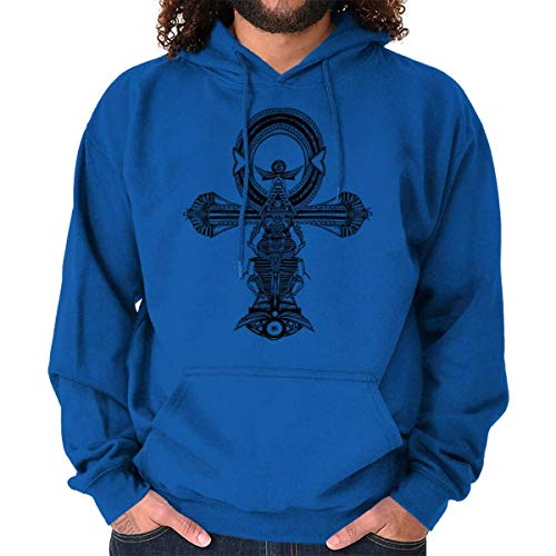 Ankh Egyptian Cross Symbolic Spiritual Gym Hoodie
