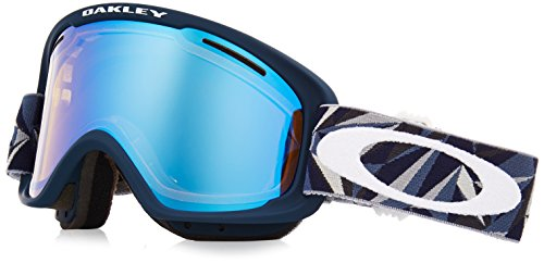 Oakley O Frame 2.0 XM Masque de Ski Mixte Adulte, Facet Iron Fathom/High Intensity Yellow