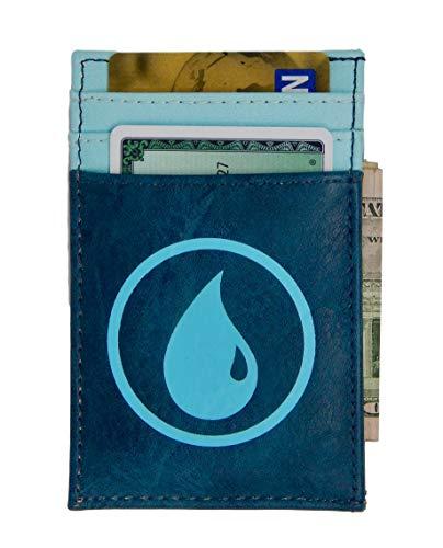 Magic the Gathering Front Pocket Card Wallet Blue Mana