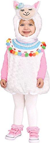 Fun World Disfraz De Llama Infantil (2-4)