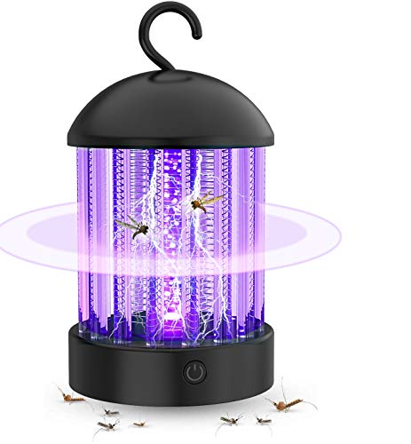 Electronic Mosquito Killer Lamp,Bug Zapper with Light Mosquito Trap, Fly Zapper Insect Killer Safety & Non-Toxic for Home Indoor/Outdoor Bedroom Kitchen Use