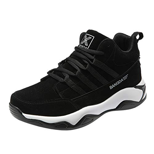Great Features Of Men's Fleece Breathable Wear-Resistant Outdoor Off-Road Sports Shoes Autumn Winter...