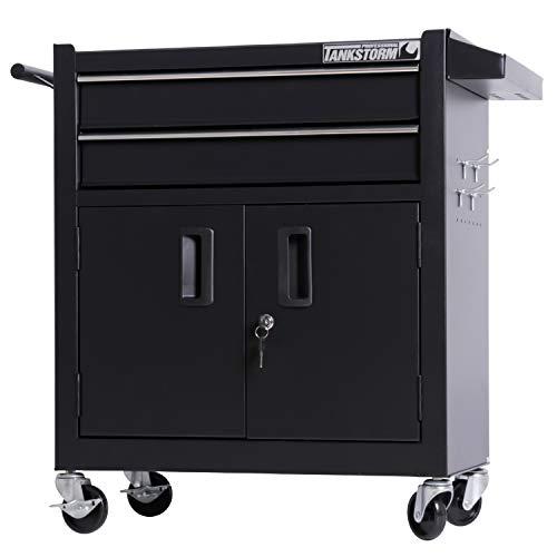 Husky 27 in. W x 19 in. D 1-Drawer 2-Door Tool Chest Rolling Cabinet $69