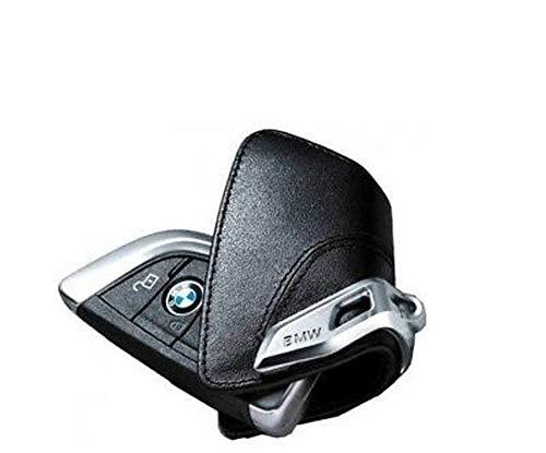 Original BMW Schlüsseletui mit Edelspange - schwarz