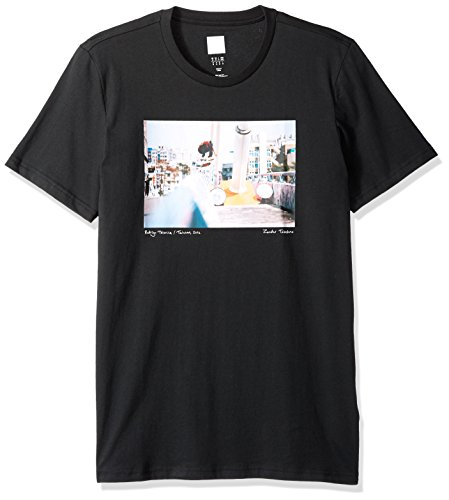 adidas Originals Men's Skateboarding City Photo Tee, Black, 2XL
