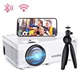 Mini Beamer, VicTsing WiFi Beamer Full HD 4000 Lumen Bluetooth LED...