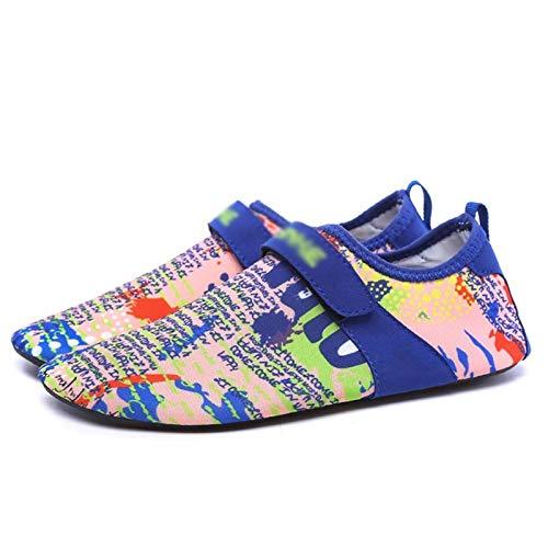 Hwqsw Zapatillas de Deporte de Playa Transpirables de Secado rápido Zapatos de Agua sin Deslizamiento Deportes al Aire Libre Resistente a Prueba de desvanecimiento Zapatos (Size : 35~36)