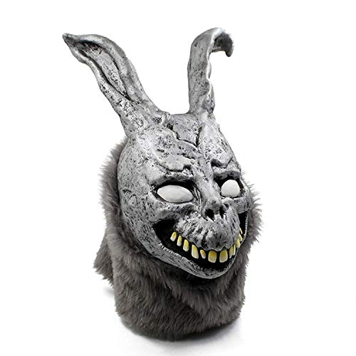 Donnie Darko Frank The Scary Evil Bunny Rabbit Overhead Teen Adult Latex Movie Mask Grey