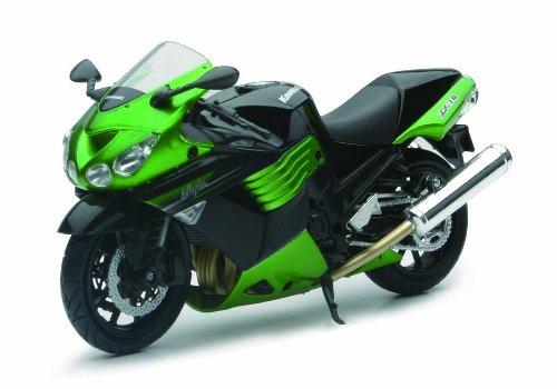 New Ray - 57433 B - Véhicule Miniature - Modèles À L'échelle - Moto Kawasaki Zx 14 - Echelle 1/12 - Modèle aléatoire