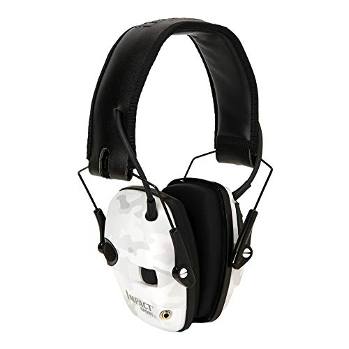 Howard Leight by Honeywell Impact Sport Sound Amplification Electronic Shooting Earmuff, MultiCam Alpine (R-02528), multi-color
