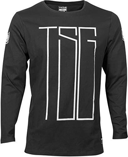 TSG MJ2 T-Shirt à Manches Longues Homme, Black