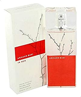 In Red by Armand Basi 100ml Eau de Toilette
