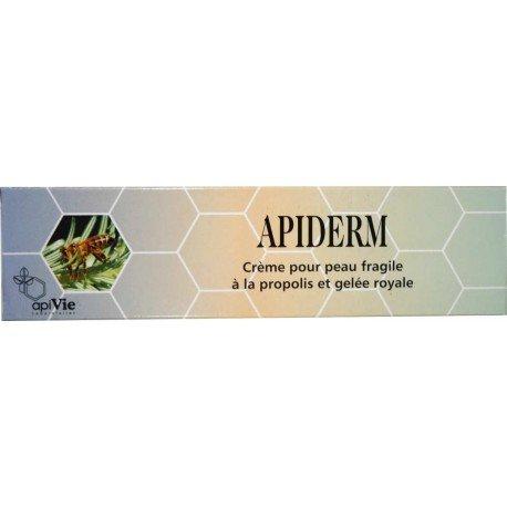 APIDERM crème peaux sensibles.