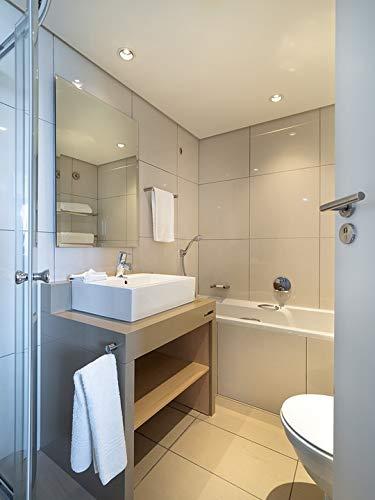 Infrarotheizung mit Thermostat Spiegelheizung Spiegel Heizung 450W Infrarot Wandheizung kaufen  Bild 1*