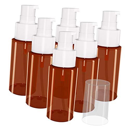 F Fityle Botellas Vacías Recargables Portátiles de 60 Ml, Envases de Loción Pequeños, Nuevos