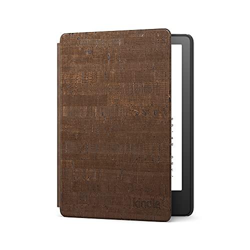 Funda de corcho de calidad superior para Kindle Paperwhite de Amazon | Compatible con el Kindle Paperwhite de 11.ª generación (modelo de 2021), Color Oscuro