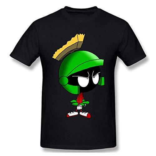 T-Shirt da Uomo a Maniche Corte Marvin The Martian Fashion T-Shirt girocollo Grande